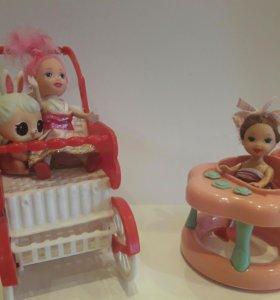 Ходунки и куколки