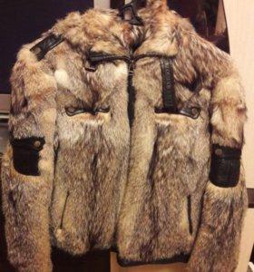 Куртка из натуральной шкуры испанского ягнёнка.