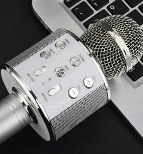 Караоке микрофон WS-858 беспроводной