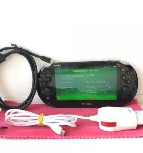PS Vita 128GB +70 игр, 3.65 Henkaku Enso
