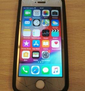 iPhone 5s 16gb белый.