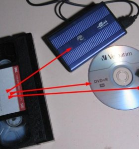Видеокассеты перепишу на ДВД диск, флешку...