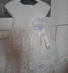 Платье на девочку 86