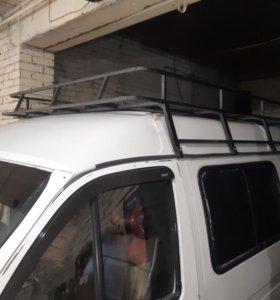 Газель ,соболь, багажник и лестницу