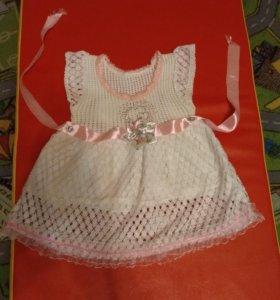 Платье нарядное от 1 года