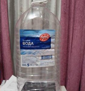 Пластиковые бутылки 5л.