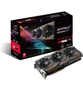 Видеокарта Asus AMD Radeon RX 480 Strix 8GB