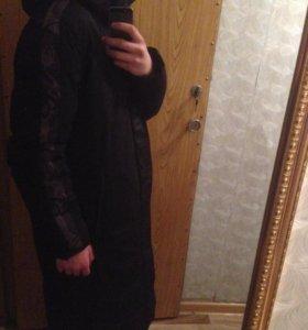 Куртка длиная в хорошом состояние