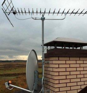 Установка и ремонт спутниковых систем