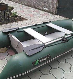 Лодка Соната 280+ мотор ямаха 2