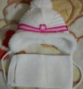 Новый зимний комплект для новорожденных