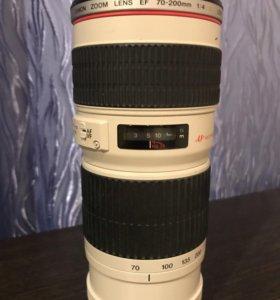 Объектив Canon EF 70-200 mm F4l usm