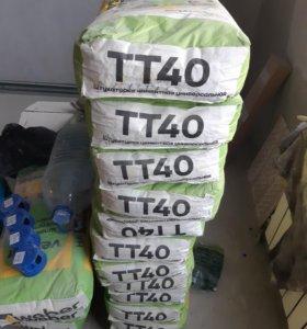 Штукатурка ТТ40, шпаклевка влагостойкая цементная