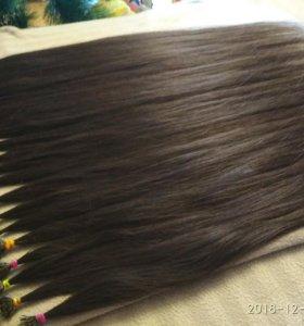 Настоящие волосы!!!60 см 195 прядок