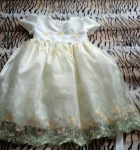 Платье нарядное на девочку 7 лет