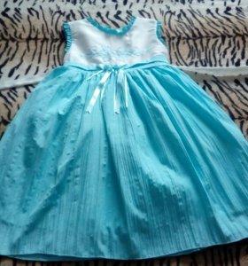 Платье нарядное на девочку 6 лет