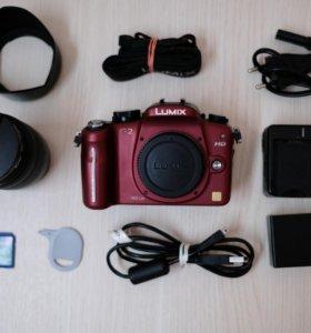 Фотоаппарат Panasonic Lumix DMC-G2 Объектив 14-42