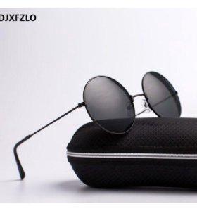 Винтажные круглые солнцезащитные очки