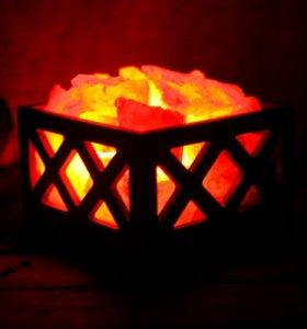 Солевые лампы Корзинки