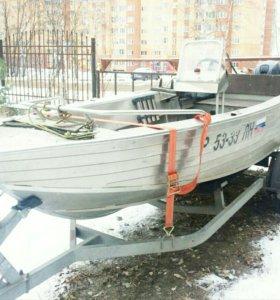 Лодка Вятбот 42К Yamaha 25 4т МЗСА