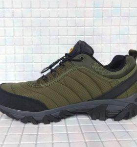 Кроссовки ботинки Merrell хаки 2