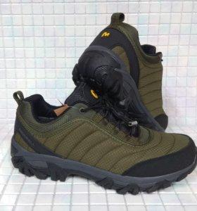 Кроссовки ботинки Merrell хаки 4