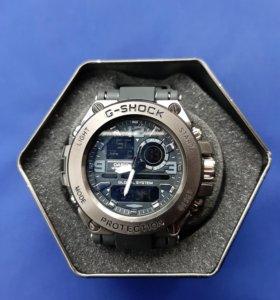 Новые часы металлические g-shock