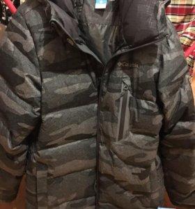 Куртка пуховая мужская горнолыжная Columbia