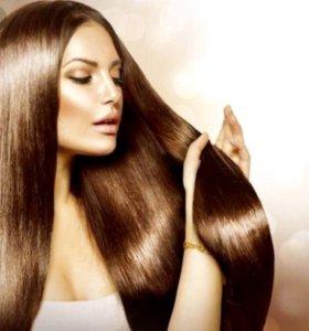 Кератин,Ботокс,Нанопластика для волос!