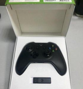 Геймпад Xbox ONE беспроводной + адаптер