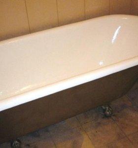 Восстановление ванн жидким акрилом