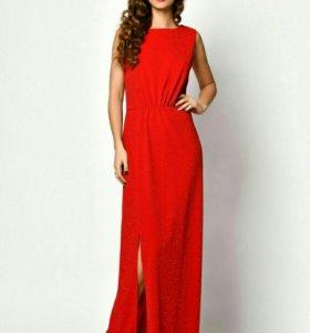 Платье с люрексом новое