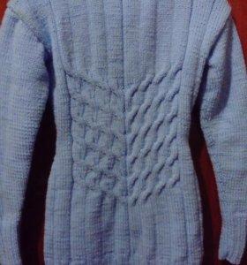 Пуловер/водолазка ручной работы
