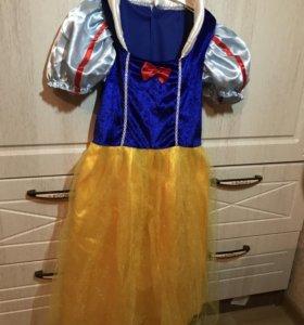 Новогоднее платье Белоснежка