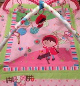Развивающий игровой детский коврик