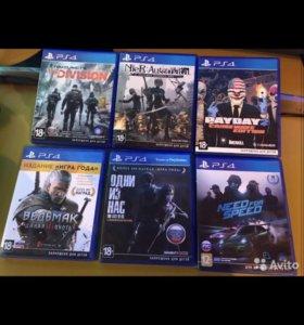 Прокат дисков PS3 иPS4