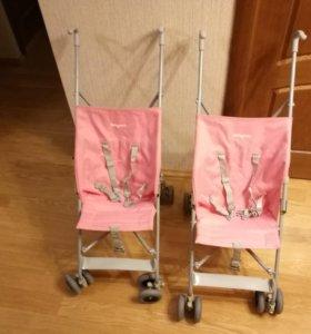 2 шт. Коляски-трости BabyCare 0-19 кг. Сост. новых
