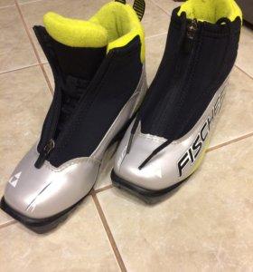 Лыжные ботинки 34 размер , NNN 🎿 Fischer