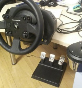 Thrustmaster TX Leather Edition + TH8A Shifter