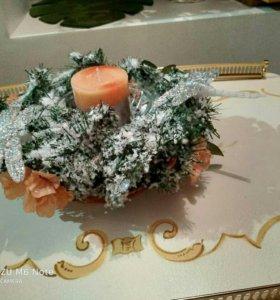 Венок новогодний