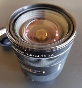 Объектив Sony 24-70mm f/2.8 ZA SSM Carl Zeiss Vari