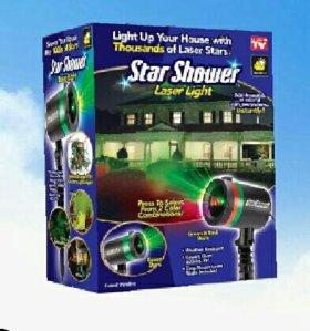 Проектор лазерный Звездный дождь