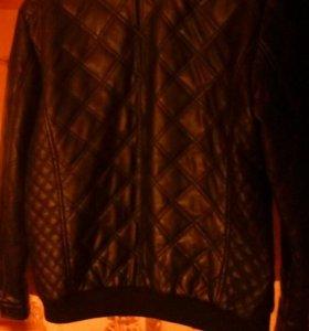 Продам кожаную куртку Koton