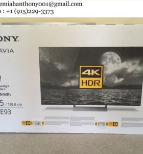 Sony Bravia 55A1BU OLED HDR 4K Ultra HD Smart