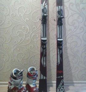 Лыжи и боты