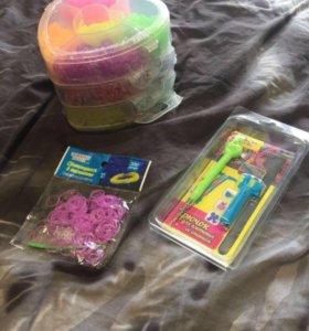 Новый набор для плетения резиночек
