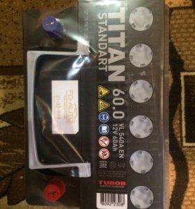Аккумулятор титан 60а