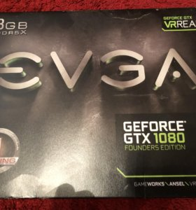 Evga GeForce GTX 1080 Founders Edition