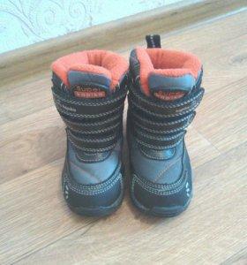 Зимние мембранные ботинки Kapika в отл сост