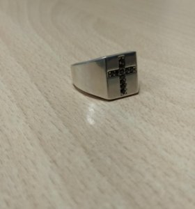 Печатка с крестом